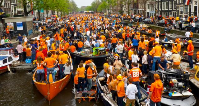 The Netherlands celebrates national unity on King's Day by orange ...