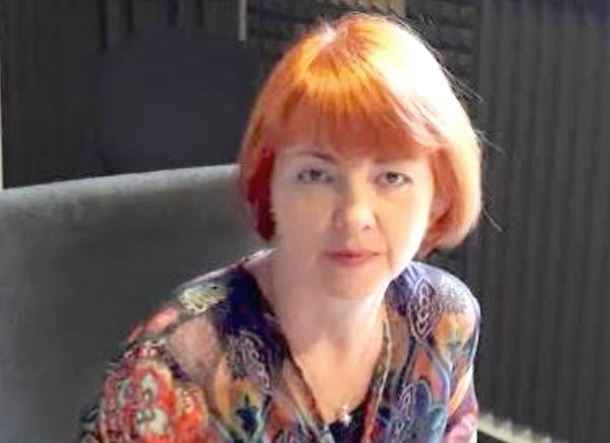 Simona Sora Romanian Literature Now Blue Top