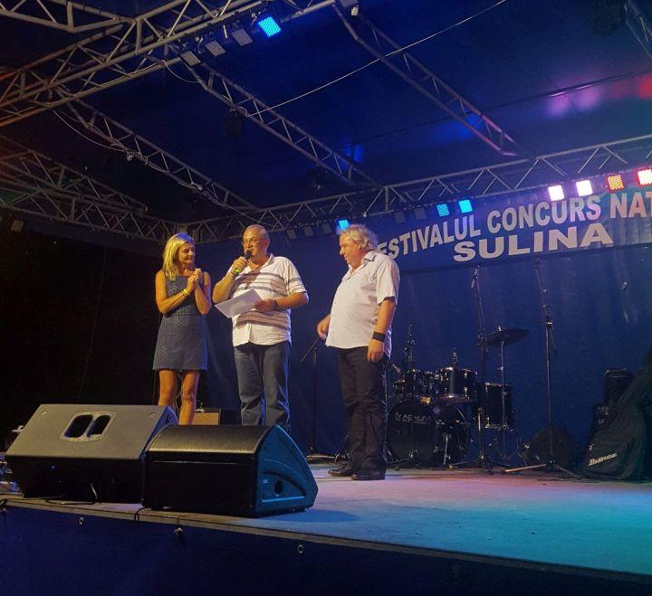 Melania Mihaescu, Bogdan Dragomir si Paul Nour - organizator Festivalul Sulina.1100 (foto arh. Bogdan Dragomir)