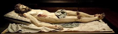 Gregorio Fernández, 'Dead Christ' (c.1630)