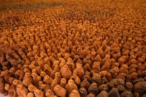 Anthony Gormley's Field