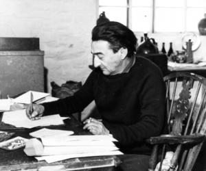 Ronald Duncan writing