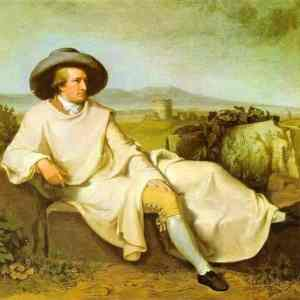 Goethe outside