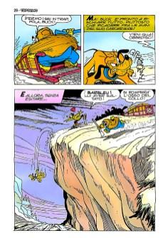 Ultima pagina (in origine) della prima puntata. Penultima nella versione pubblicata.