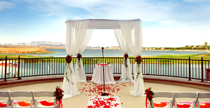 The Westin Lake Las Vegas Resort - Weddings - Lotus Court