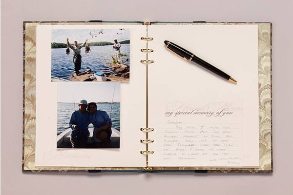Couple's Memory Book