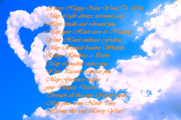 New Year Greetings Card and Quotes