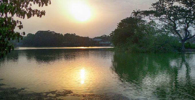 Dhakuria Lake