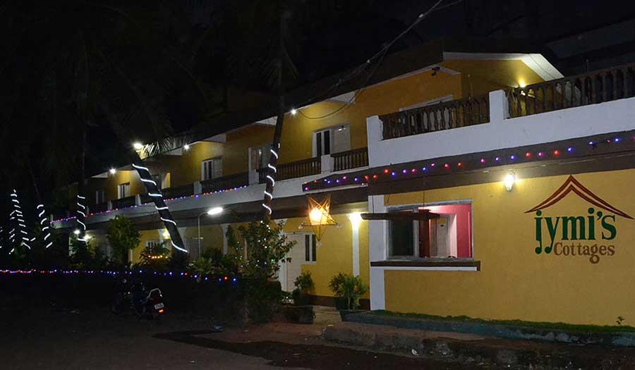 Jymis Cottages in Colva Beach
