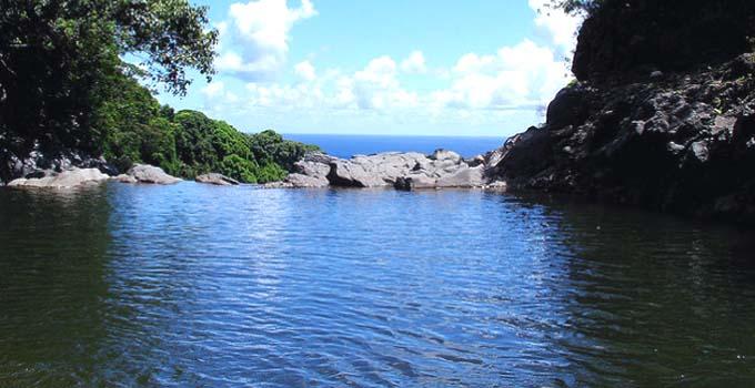 Infinity Pool in Hana, Maui