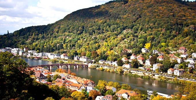 Heidelberg in Autumn - Germany