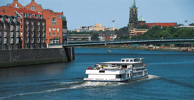 River Weser and harbour cruise