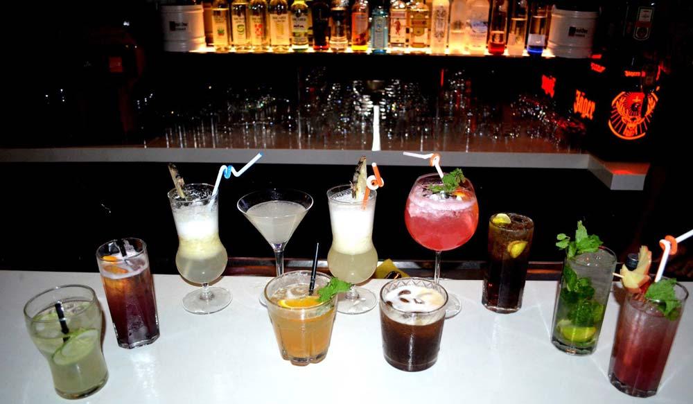 Down The Road bar in Goa