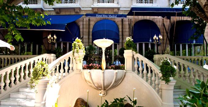 Hotel Ritz Madrid Wedding Venue