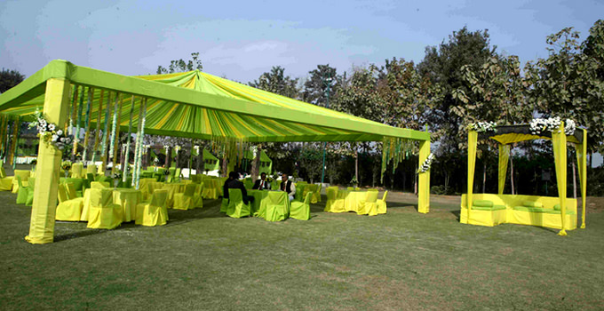 Polo Farm in Delhi Wedding Venue
