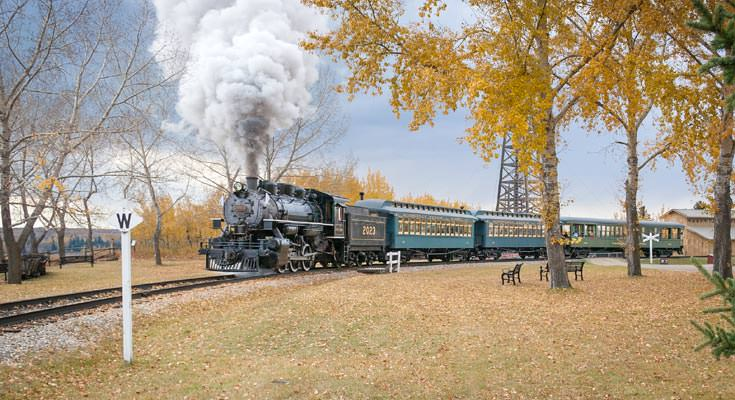 Steam Train calgary