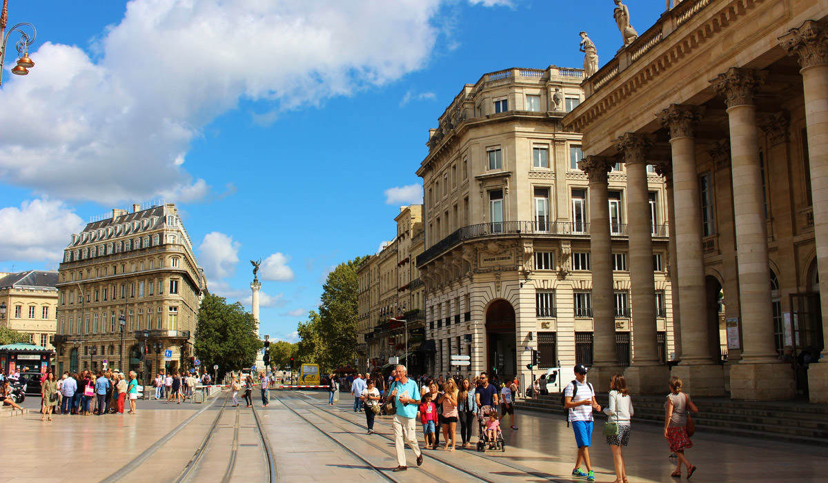 Bordeaux in France