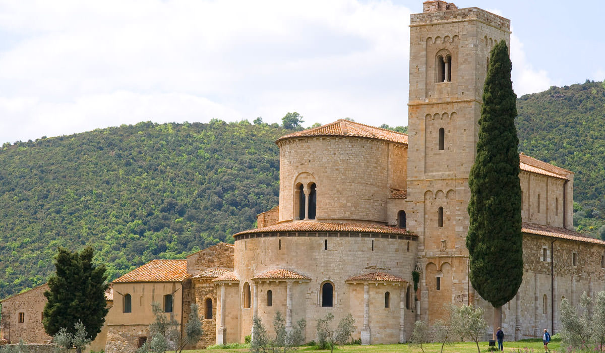Abbey-Sant'-Antimo