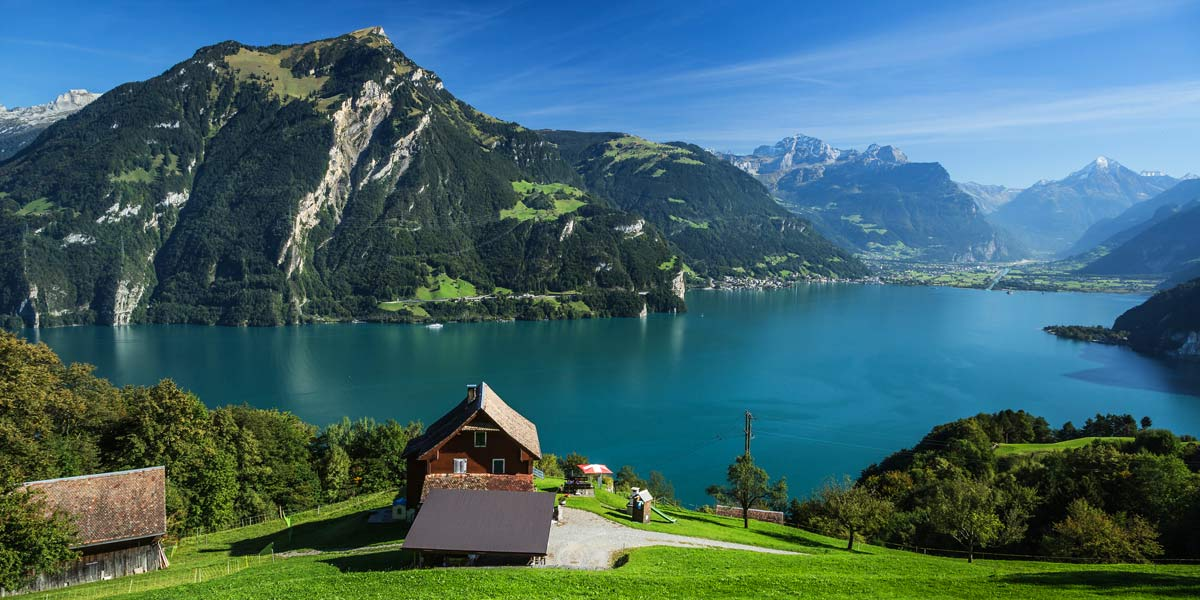 Lake-Lucerne in Switzerland
