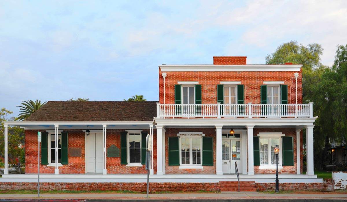 Whaley House san diego