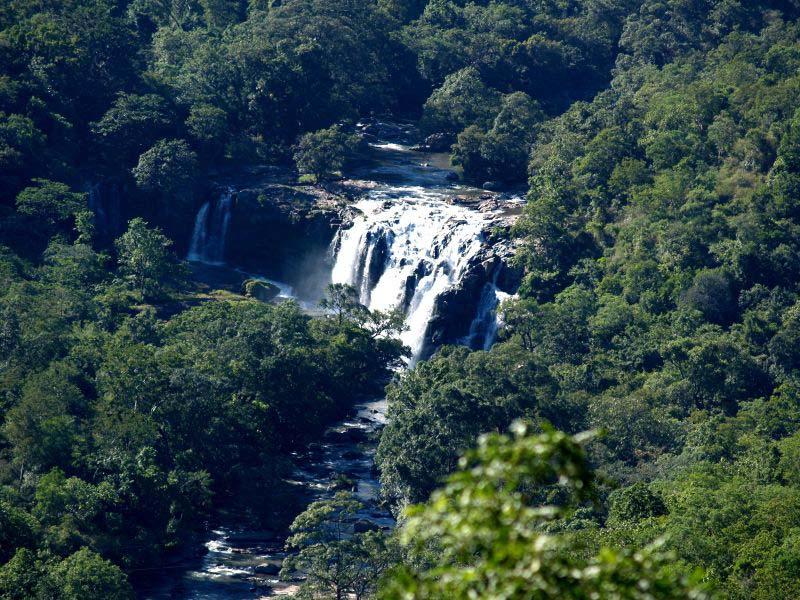 Thoovanam Waterfalls in Munnar