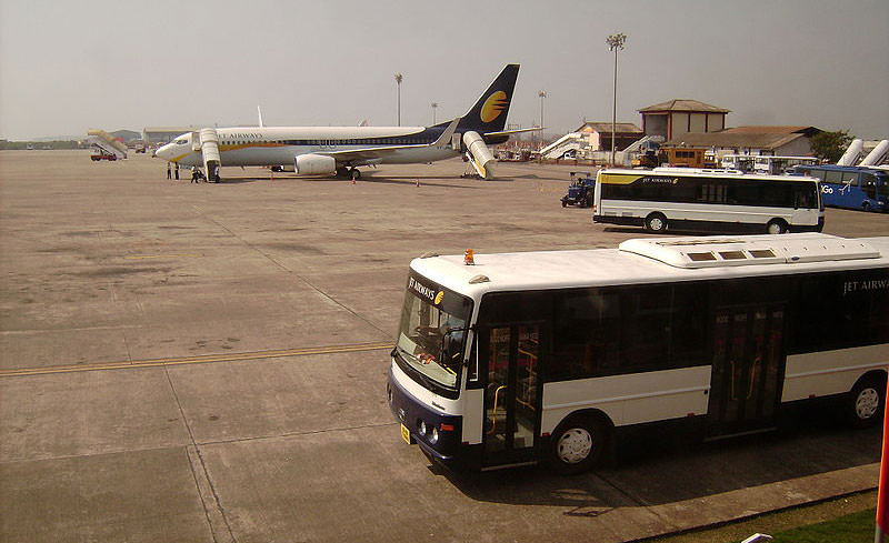 Domestic Terminal Of Goa Airport