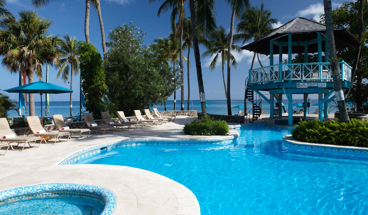 All Inclusive Rendezvous Resort in St. Lucia