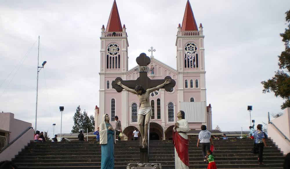 Baguio Cathedral in Philippines