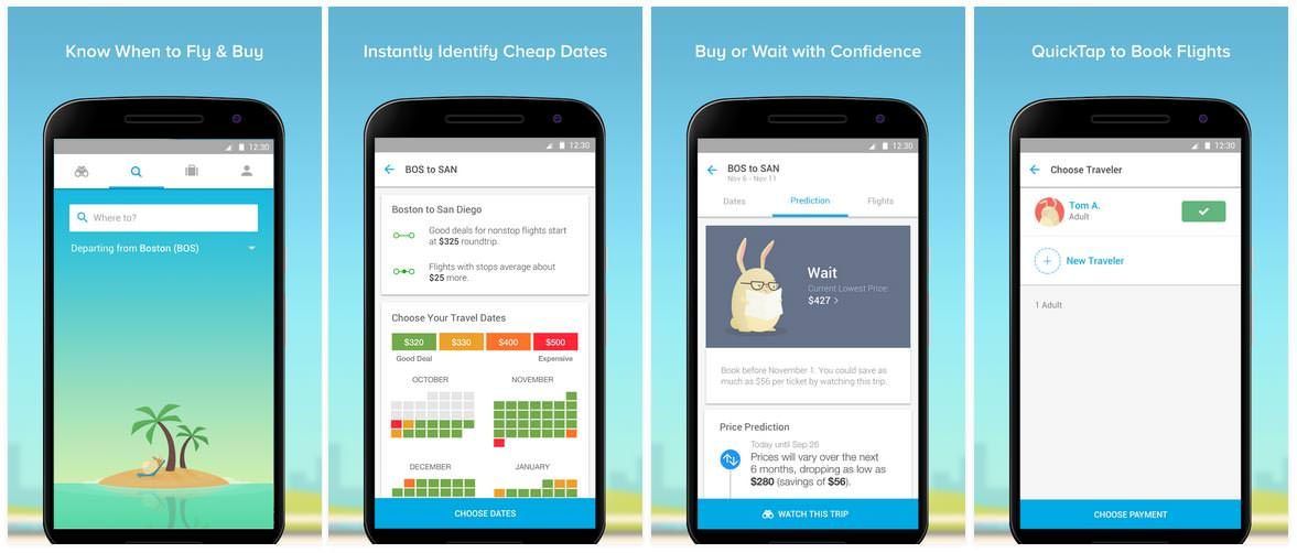 Hopper Flight Booking and Tracking App