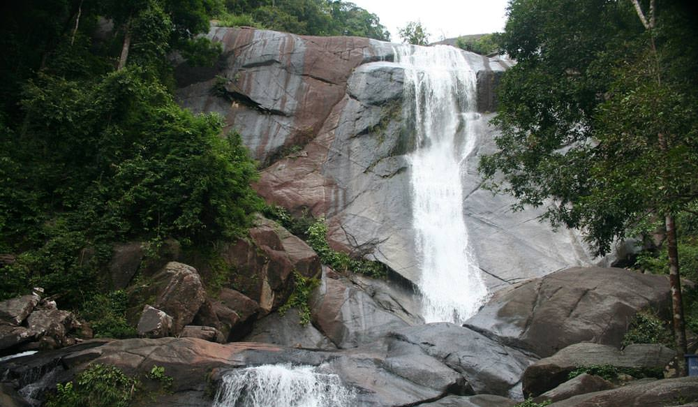 Telaga Tujuh Waterfall in Langkawi