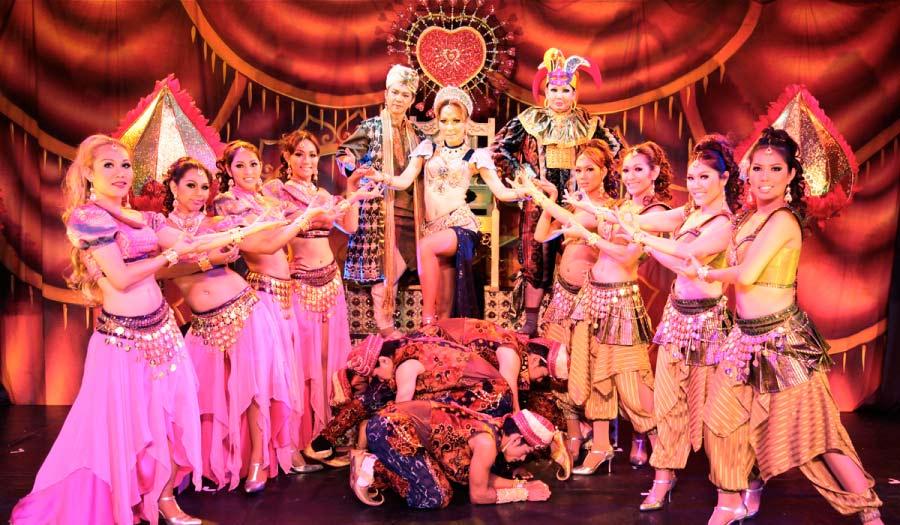 Lady Boys Show in Bangkok