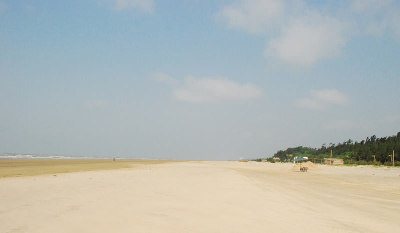 Mandarmani Beach in West Bengal