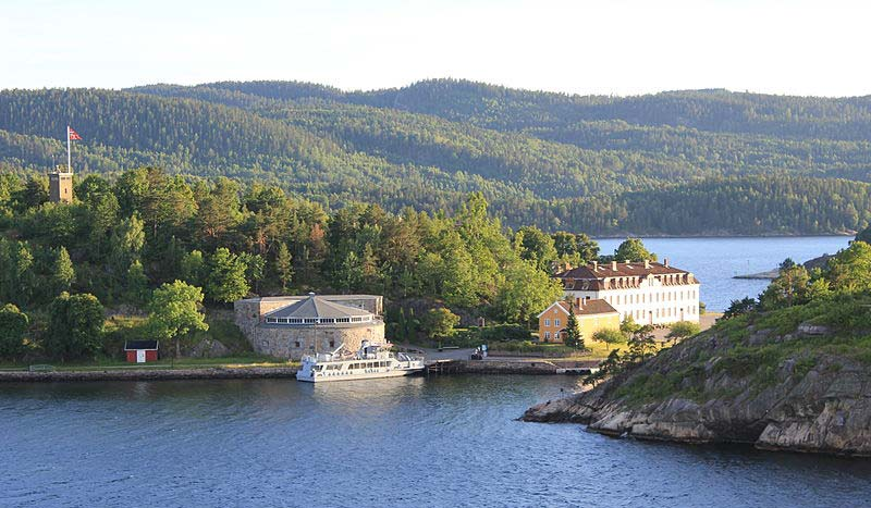 Oscarsborg Fortess in  Norway
