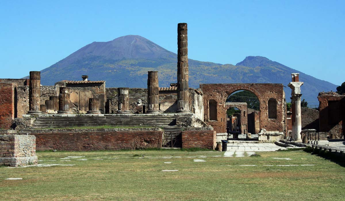 Pompeii in Itlay
