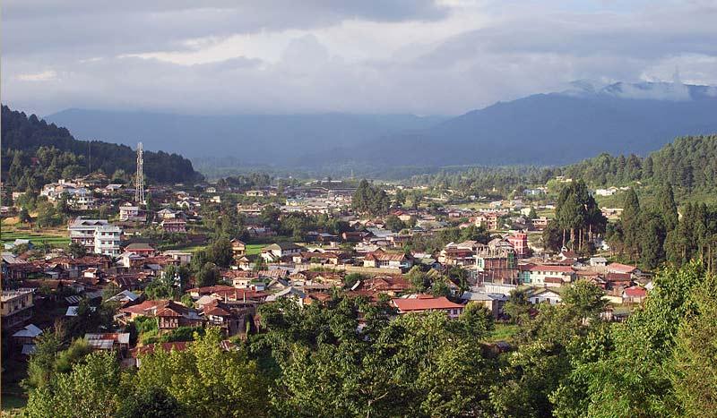 Ziro in Arunchal Pradesh