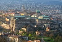 Buda Castle Romantic Budapest