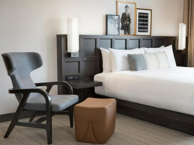 A Luxury boutique hotel suite in The Clift Royal Sonesta San Francisco Downtown