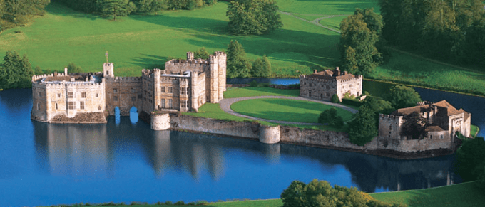 Leeds Castle, Maidstone, Kent, one of the best Castle hotels near London