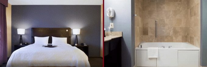 A studio with jacuzzi in Hotel Hotel Hampton Inn & Suites by HiltonVineland, NJ