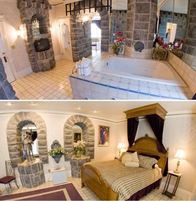 Themed Jacuzzi Suite in The Anniversary Inn - Logan, Utah