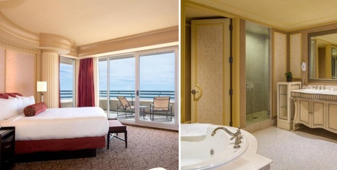 Suite with Whirlpool in The Showboat Hotel Atlantic City