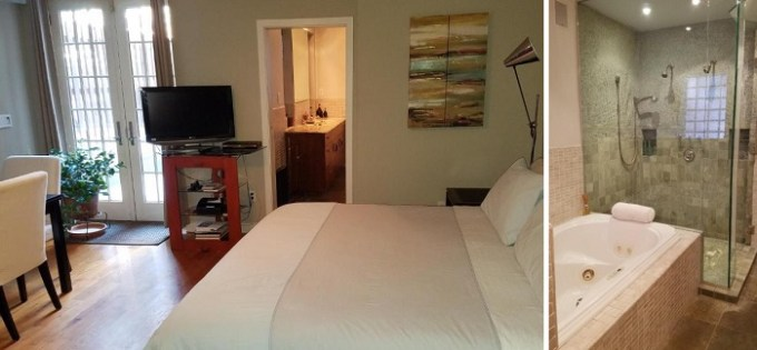 Suite with Jacuzzi room in West 119th B&B, NYC