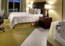 Hot tub room in Hilton Garden Inn Richmond Airport, VA