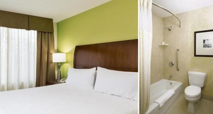 King Bedroom with Whirlpool in Hilton Garden Inn Seattle North-Everett