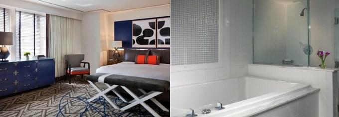 Spa suite with Fuji soaking tub in Kimpton Hotel Palomar Washington DC