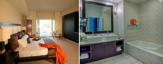 Suite with a jetted tub in Provident Doral At The Blue, Miami, Florida