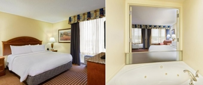 Whirlpool room in Hilton Garden Inn Richmond South-Southpark, VA