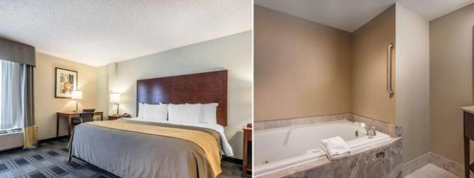 Room with Whirlpool in Comfort Inn SW Omaha I-80, NE
