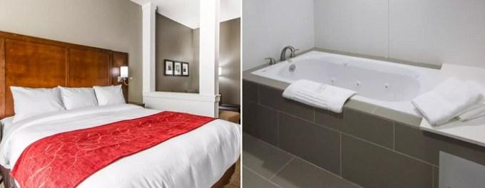 Suite with Whirlpool in Comfort Suites West Omaha, NE