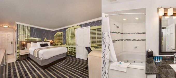 Jacuzzi suite in Best Western Plus Milwaukee West Hotel, WI